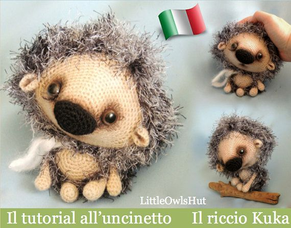 Amigurumi Uncinetto Tutorial Italiano : Best amigurumi ricci images amigurumi patterns