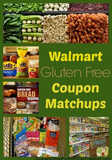 Walmart Gluten-Free Coupon Matchups! - Grocery Shop For FREE at The Mart!!