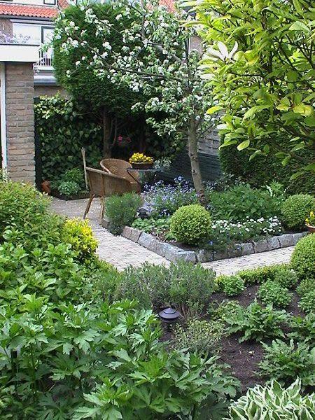 25 beste idee n over kleine tuinen op pinterest kleine buitenruimten kleine tuin ontwerpen - Wijnstokken pergola ...