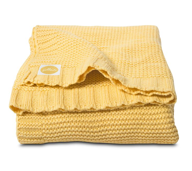 Jollein ledikant deken chunky knit 100x150cm - Villa Vrolijk