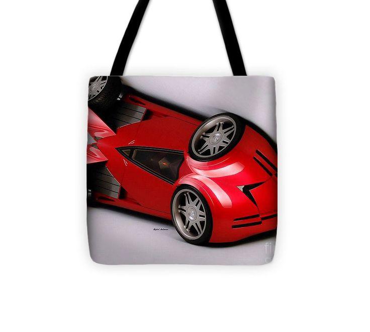 Tote Bag - Red Car 009