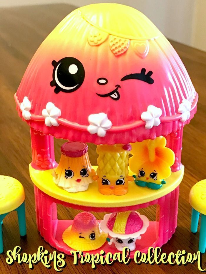 Shopkins Hula Hut Shopkins Tropical Set Season 4 Exclusive Shopkin