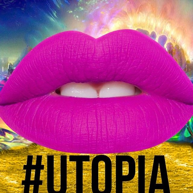 #UTOPIA: A theoretical perfect realm. Also: new Velvetine by Lime Crime, coming June 2014!  Thank you, all 500K of you!