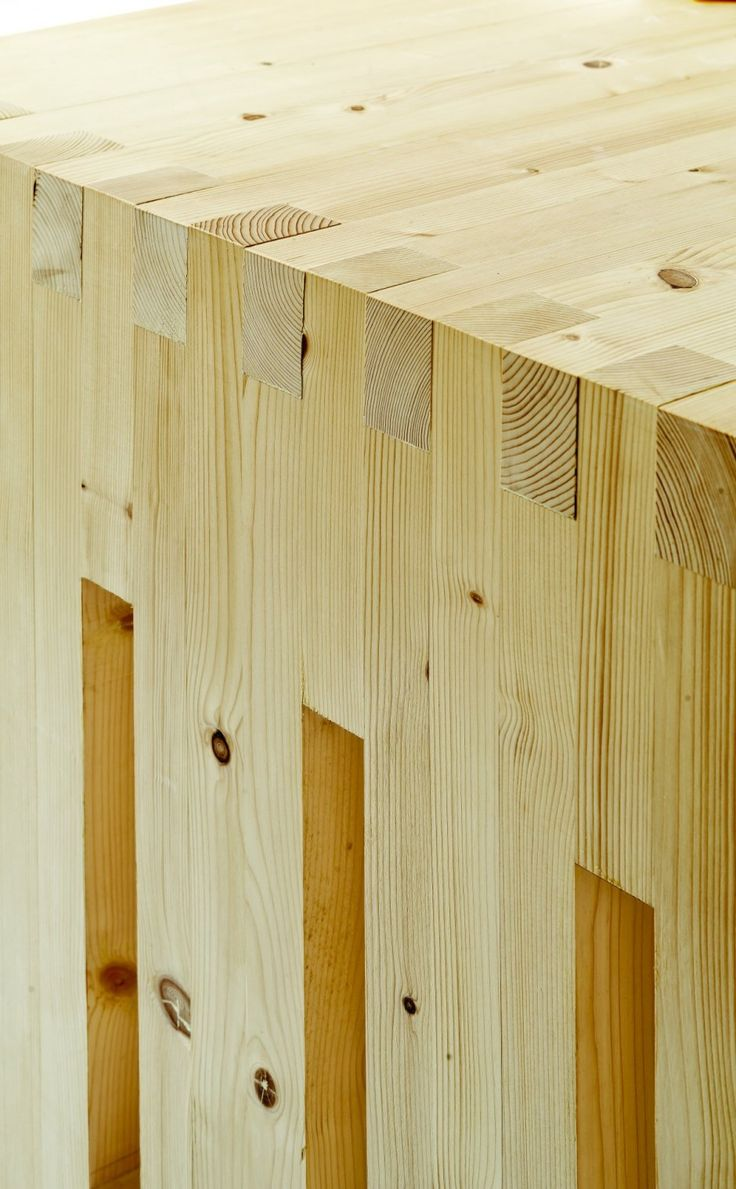 Office Dones del 36 by ZEST Architecture MMM MY FAV! FINGER JOINTS.