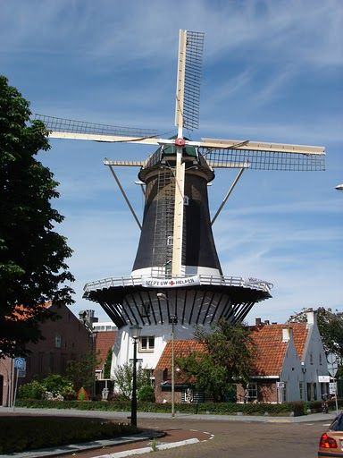 our local windmill in Wassenaar, Nederland
