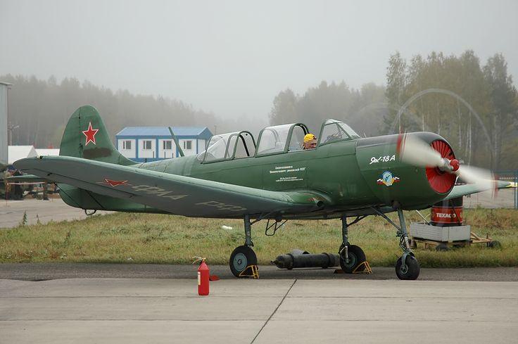 Yakovlev Yak-18A - Як-18 — Википедия