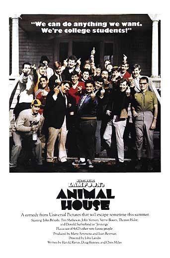 animal house movie posters original -