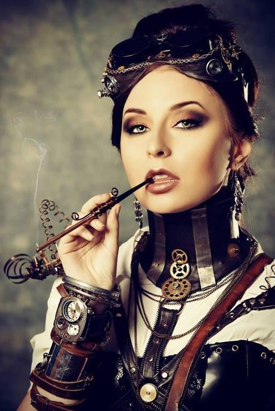 best 25  steampunk makeup ideas on pinterest