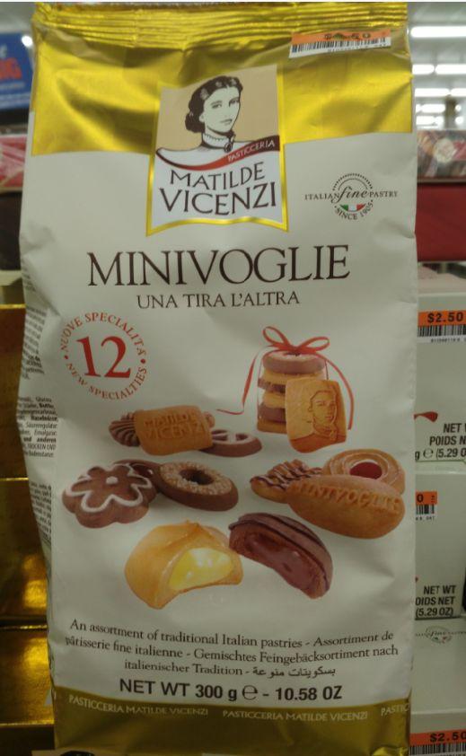 Matilde Vicenzi Mini Voglie Assorted Cookies