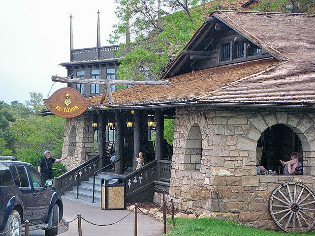 El Tovar Hotel - Grand Canyon  (We stayed here on our Honeymoon.)