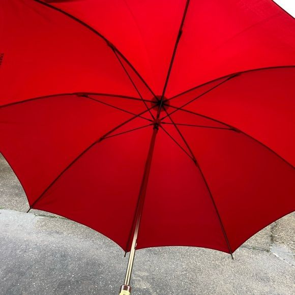 Sold Brand New Burberry Red Umbrella Red Umbrella Umbrella Umbrella Photography