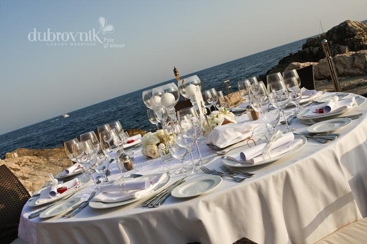 Wedding in Dubrovnik - hotel wedding receptions