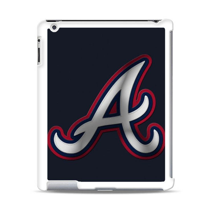ATLANTA BRAVES LOGO BASEBALL iPad Case