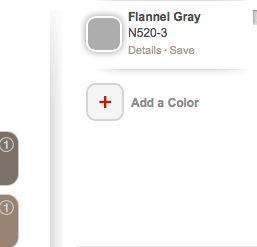 flannel grey paint color chart paint color visualizer on home depot paint visualizer id=11916