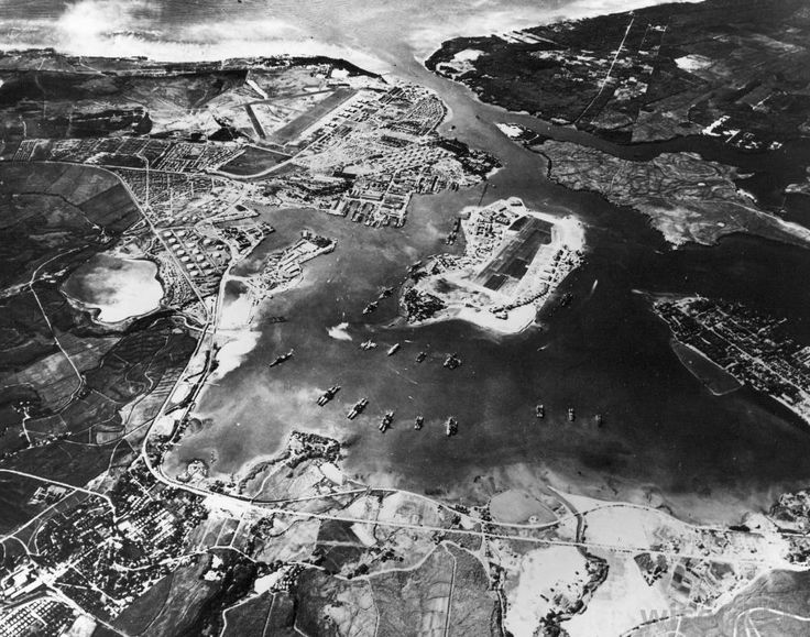 Pearl Harbor Before The Attack | aerial-view-of-pearl-harbor-before-the-attack.jpg