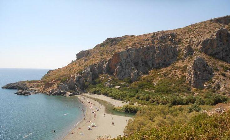 Preveli, Kréta