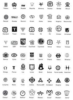 List of Gold Maker Marks   also this link is great for more... http://swisswatchguy.blogspot.com ...