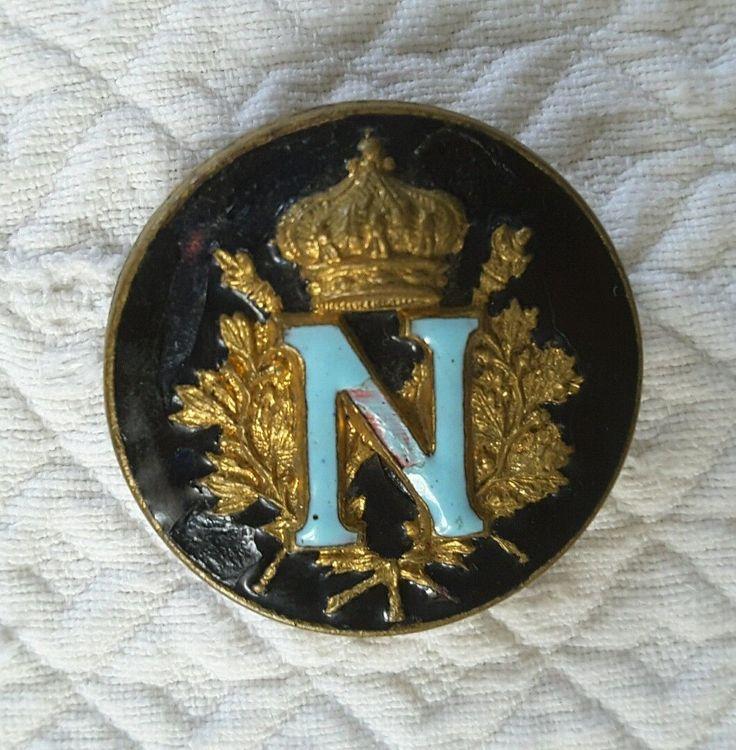 Bouton Émaillé Sacre DE Napoléon IER | eBay