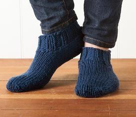 Chunky Slippers Pattern free from @Katie Munoz Picks