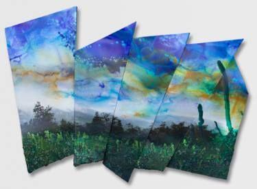"Saatchi Art Artist Paul Brandejs; Painting, ""Where the Tops are"" #art"