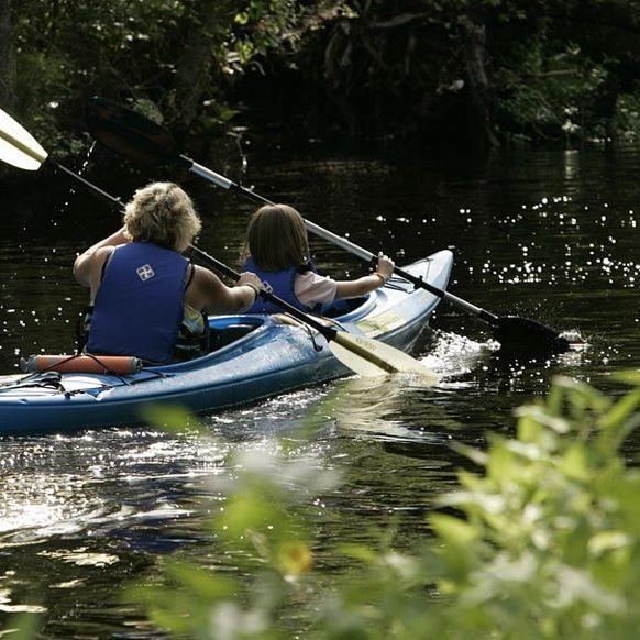 Dreaming of warmer days spent kayaking...