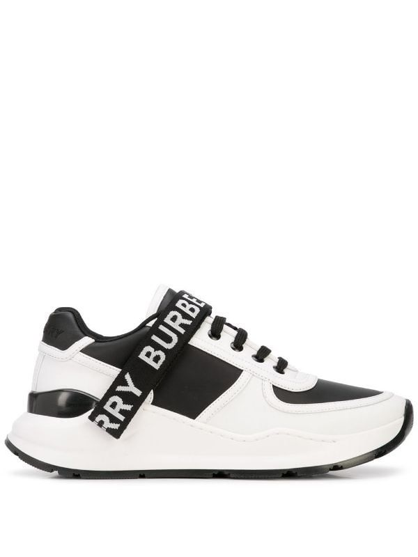 Burberry logo-strap low-top Sneakers