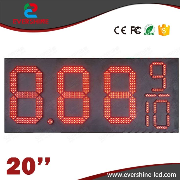 308.00$  Buy now - http://alidp1.worldwells.pw/go.php?t=32761963935 - 20'' 8889/10 led outdoor gas station signs \ led gas station price signs \ oil price display led gas petrol price oil gas 308.00$