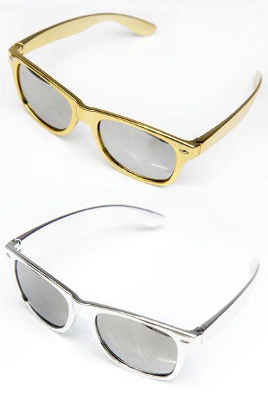 Eazy E Gold&Silver Aurinkolasit | Cybershop
