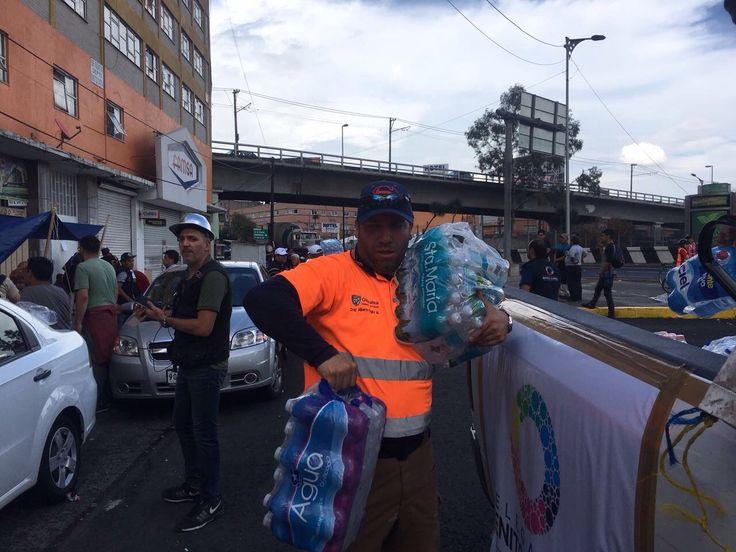 62.5 toneladas de apoyo enviados a damnificados con estructura estatal