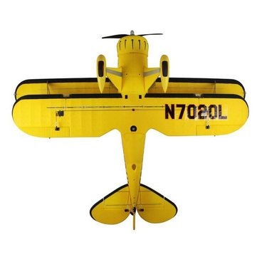Dynam Waco Yellow 1270mm 50inch Wingspan RC Warbird PNP Sale - Banggood.com