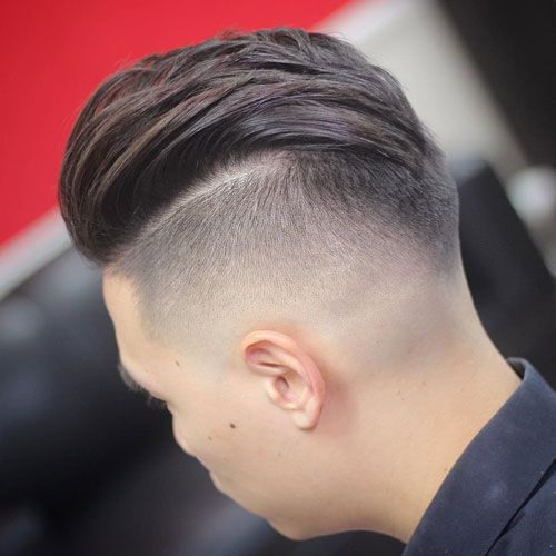 Shaved On The Sides Long Hair Top