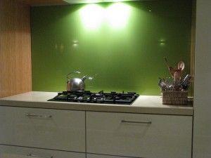 diy back painted glass kitchen splashback kitchen
