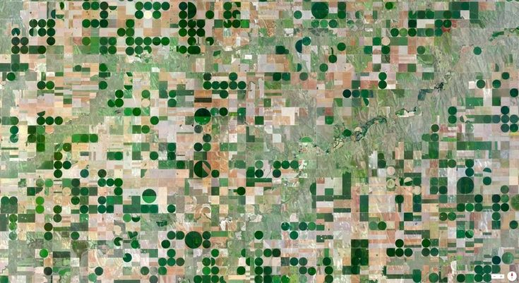Edson, Kansas, U.S.A.   43 Incredible Photos Of Earth, As Seen From Space