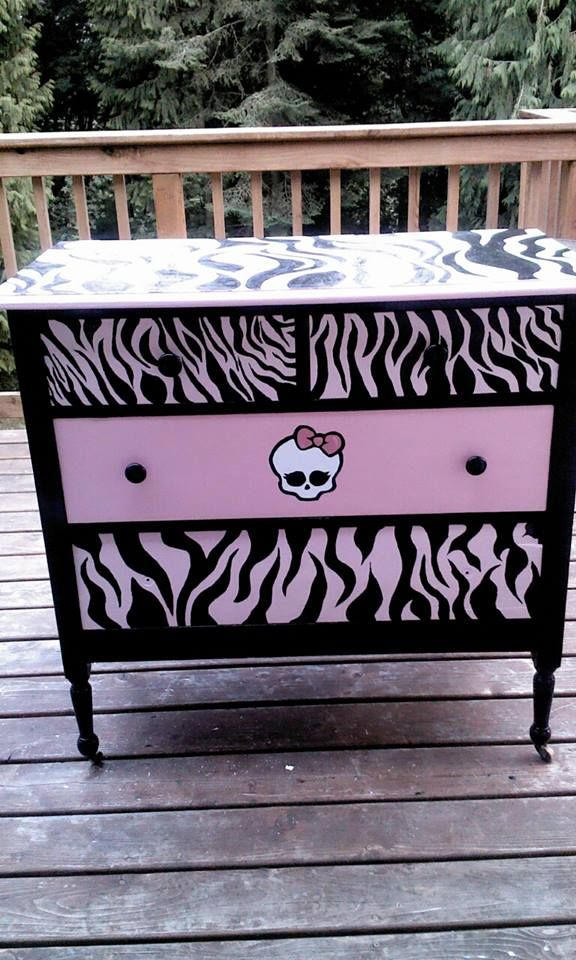 Monster High Dresser