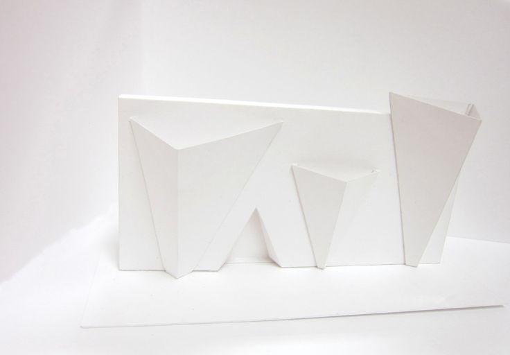 Объёмная композиция из плоских элементов