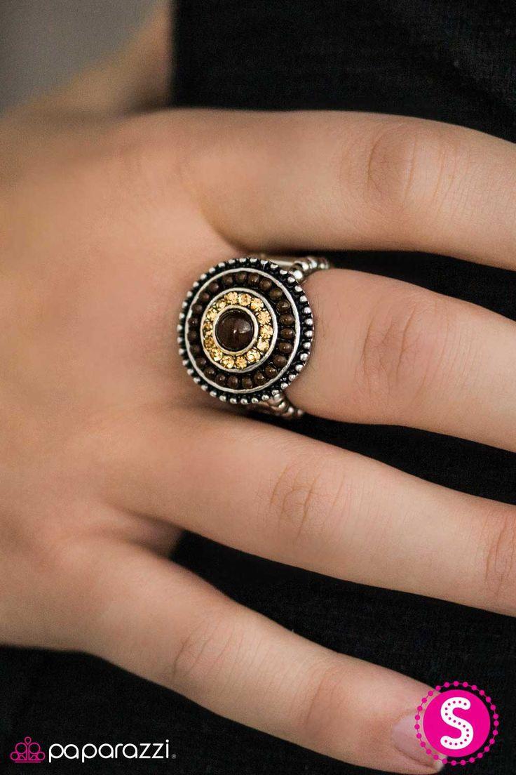 Chubby brown ring — photo 6