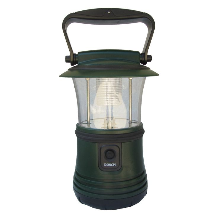 Dorcy 41-3103 Battery Operated LED Camping Flashlight Lantern with Hanging Hook - 41-3103