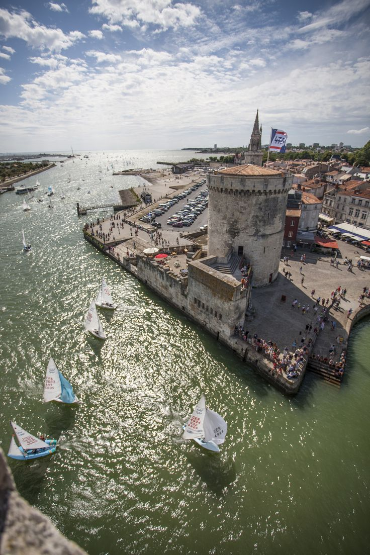World 470 championship at La Rochelle //  Ch Breschi