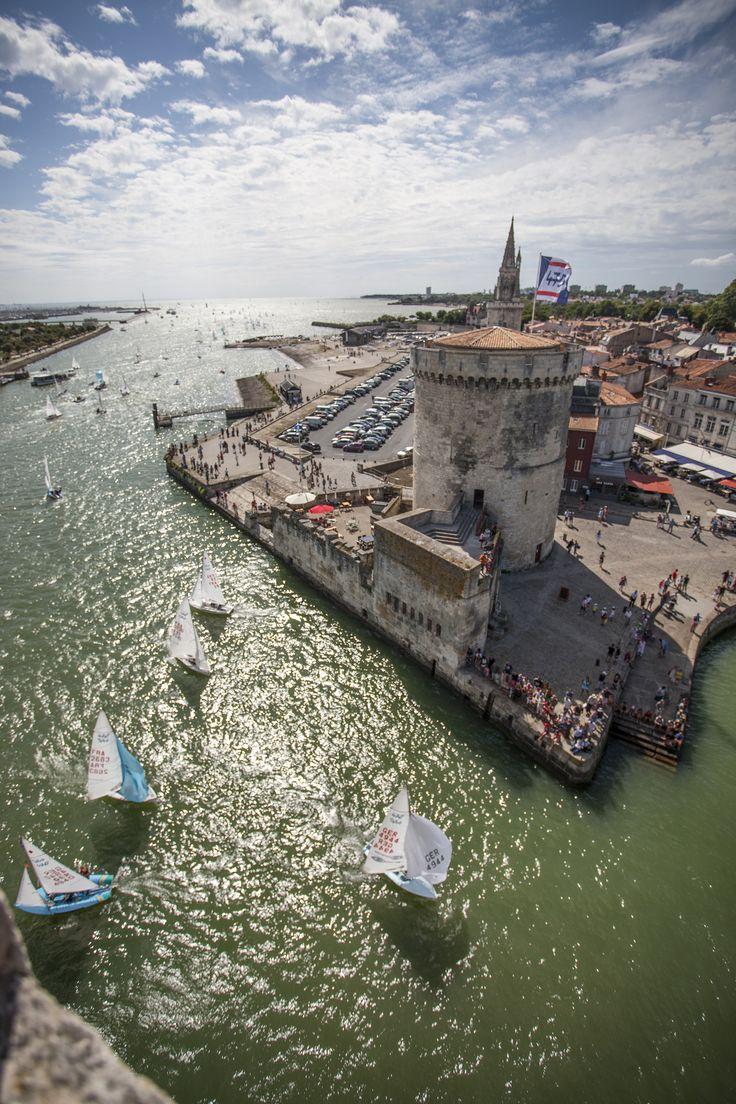 World 470 championship at La Rochelle //  Ch Breschi
