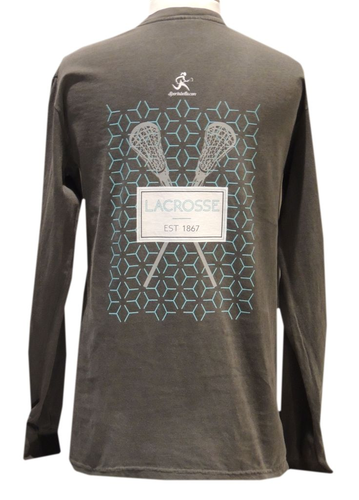 Sportabella Girls Lacrosse Lax Honeycomb Long Sleeve with Front Pocket Tee - $25 - Sportabella.com