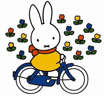 Miffy ('Nijntje') is a small female rabbit in a series of picture books drawn…