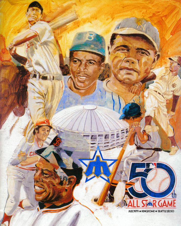 The 1979 MLB AllStar Game program. Mariners Baseball
