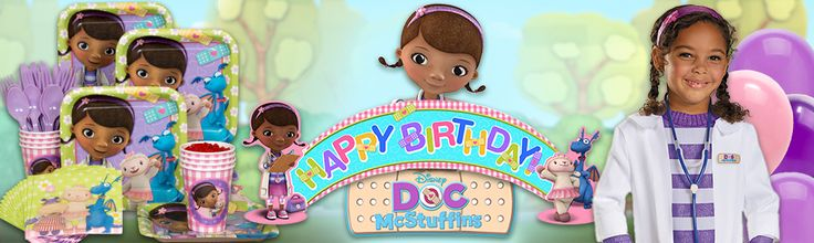 Doc McStuffins party supplies, decorations and invitations at specialbirthdaypartyideas.costumesupermart.com
