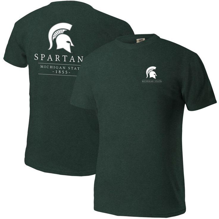 Michigan State Spartans Comfort Colors Mascot T-Shirt - Green