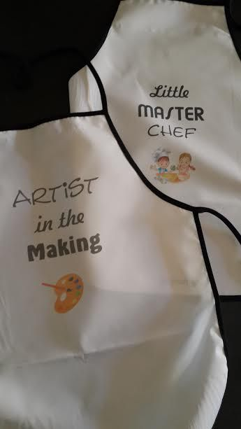 children's aprons 3-7 years