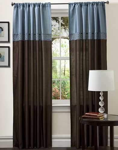The Chocolate Blues: Window Coverings