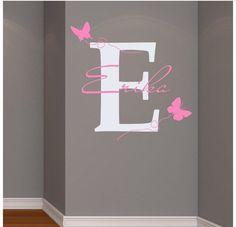 Kinderzimmer gestalten wand mädchen  Die besten 25+ Babyzimmer wandgestaltung Ideen auf Pinterest ...
