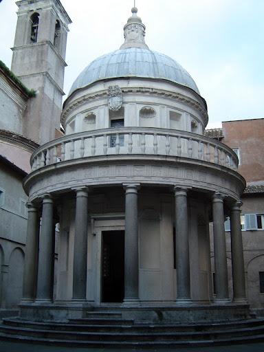 D. Bramante - tempietto di San Pietro in Montorio, Roma
