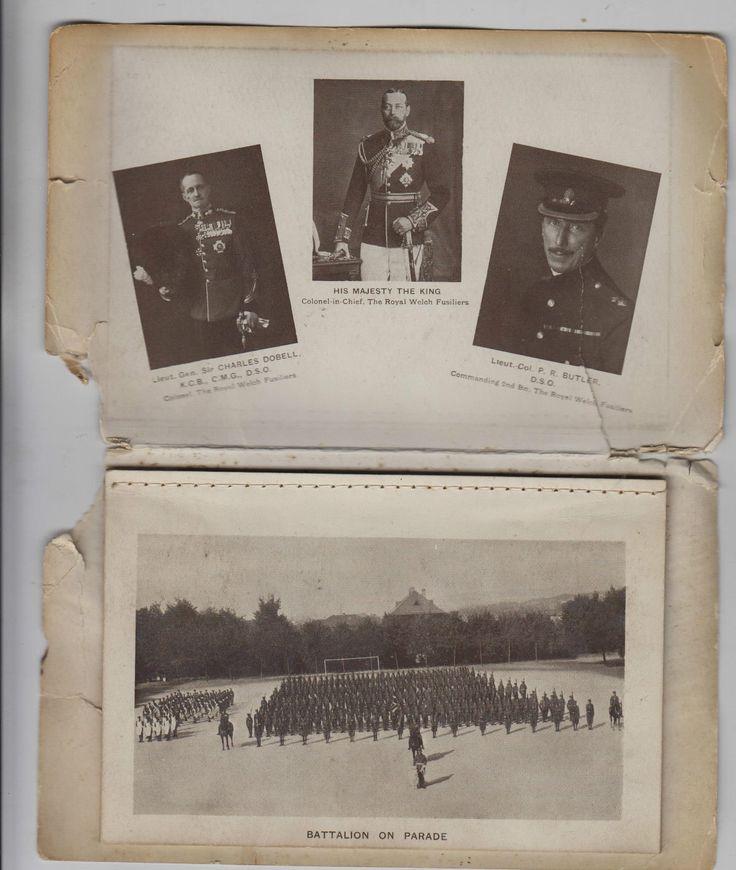 2 RWF Calendar from inter-war years.