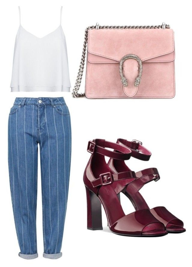"""""""Lulu Girl💕"""" by anita-wonderlight on Polyvore featuring Topshop, Gucci, Alice + Olivia, Summer, topshop и gucci"""
